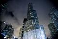 Картинка ночь, город, огни, небоскребы, Чикаго, Chicago, Иллиноис
