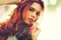 Картинка взгляд, девушка, волосы, красота, светлые, нежная, Pretty woman