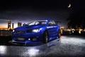 Картинка Mitsubishi, EvolutionХ, дождь, Lancer