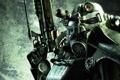 Картинка оружие, костюм, fallout, железный