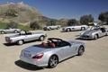 Картинка небо, Mercedes-Benz, Мерседес, SL-Klasse, разные поколения, СЛ-класс