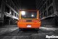 Картинка ночь, оранжевый, улица, тюнинг, фонари, фонарь, Top Gear