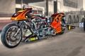 Картинка дизайн, HDR, мотоцикл, форма, байк, драгстер