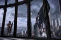 Картинка Земля, Шепард, Mass Effect 3, Жнец