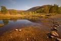 Картинка природа, река, камни, весна