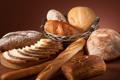 Картинка корзина, хлеб, доска, разный, батоны, нарезной