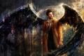 Картинка ангел, Castiel, supernatural, Cas, сериал, сверхестественное