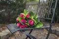 Картинка стул, розы, цветы