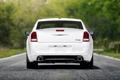 Картинка Авто, Дорога, Белый, Chrysler, Асфальт, 300c, Багажник