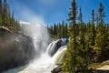 Картинка лес, природа, река, водопад, заповедник