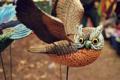 Картинка сова, птица, крылья, фигурка