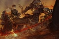 Картинка gears of war, Locust, marcus fenix арт