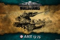 Картинка Франция, танк, танки, WoT, World of Tanks, AMX 13-75
