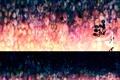 Картинка девушка, воздушные шары, платье, блондинка, пятна, длинные волосы, яркость