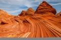Картинка США, Аризона, скалы, пустыня, небо