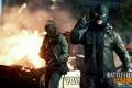 Картинка огонь, маски, преступники, Battlefield: Hardline