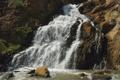 Картинка река, водопад, горная