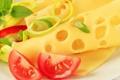 Картинка сыр, перец, помидор, аппетитно, ломти