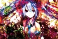 Картинка девушка, краски, colorful, арт, галстук, форма, vocaloid