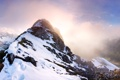 Картинка снег, горы, Панорама, Austria, Tyrol, Falschkogel