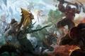 Картинка Rylai, Crystal Maiden, dota 2, Bloodseeker, moba, Leviathan, axe