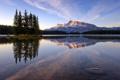 Картинка Two Jack Lake, Banff National Park, Canadian Rockies