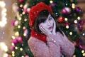 Картинка девушка, настроение, праздник