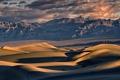 Картинка пейзаж, горы, дюны