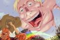 Картинка аниме, гигант, титан, Attack on Titan, Shingeki no Kyojin, Атака титанов