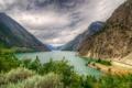 Картинка пейзаж, горы, природа, озеро, HDR, Канада, Lillooet