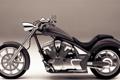 Картинка серый, колеса, мотоцикл, Honda VT1300CX