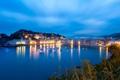 Картинка яхты, вечер, городок, photographer, гавань, Michael Woloszynowicz