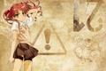 Картинка знак, аниме, To Aru Kagaku no Railgun, Сирай Куроко