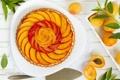Картинка пирог, apricot pie, pastries, apricots, абрикосы, leaves, cake