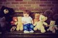 Картинка игрушки, ребенок, мальчик, медведи
