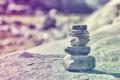 Картинка камни, фото, обработка, пирамидка, камушки