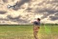 Картинка fishing, digital manipulation, Fly fishing