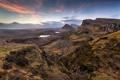 Картинка пейзаж, горы, долина, панорама