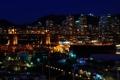 Картинка ночь, Канада, Ванкувер, night, Downtown, canada, Vancouver