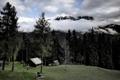 Картинка пейзаж, горы, дома