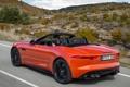 Картинка Jaguar, sportcar, speed, orange, F-Type, V8 S