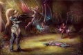 Картинка starcraft, Warcraft, wow, Sarah Kerrigan, Sylvanas, Heroes of the Storm, moba