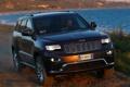 Картинка внедорожник, передок, front, Jeep, Grand Cherokee, Summit