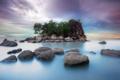 Картинка море, пейзаж, остров