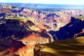 Картинка скалы, тени, Grand Canyon