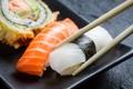 Картинка рыбка, палочки, rolls, sushi, суши, fish, роллы