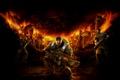 Картинка Команда, Оружие, Броня, Пила, Винтовка, Microsoft Game Studios, Epic Games