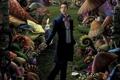 Картинка грибы, заяц, мужик, alice in wonderland, пирожок