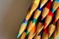 Картинка цвета, макро, карандаши, разноцветные, colours, macro