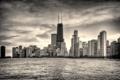 Картинка город, река, небоскребы, Чикаго, Chicago, Иллиноис